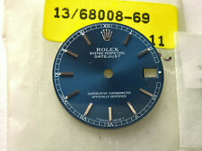 ULTRA RARE ROLEX DATEJUST 31MM 68008 BLUE DIAL + HANDS SET