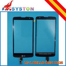 Pantalla tactil para LG L BELLO D331 D335 Negra Digitalizador Negro táctil Negra