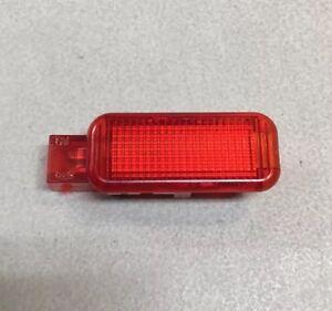 Audi A4 A6 Q7 OEM Door Warning Light Reflector Red Lens Courtesy Lamp 8D0947411