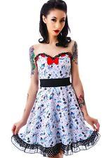SOURPUSS Erin Lazy Sundae Polkadot Dress Ladies Size M  Rockabilly Pinup Lolita