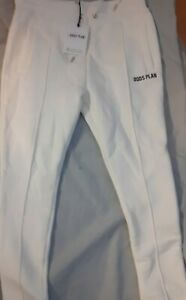 GOD'S PLAN Slim Fit Jersey Cargo Pant off white Size M New  Retails £49.50