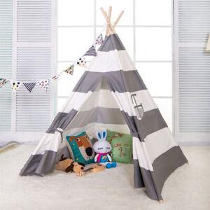 Children's Kids Teepee Play Tent Boys or Girls Tipi Tepee Wigwam Tent UK SELLER