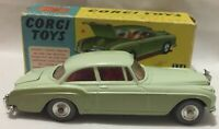 CORGI TOYS CAR BENTLEY CONTINENTAL SPORTS SALOON 224 WITH BOX VERY GOOD COND.