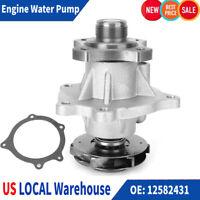 Water Pump Fits 02-12 Chevrolet GMC Hummer Isuzu 2.8L 2.9L 3.5L 3.7L 4.2L