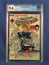 MARVEL COMICS CGC 9.6 THE AMAZING SPIDER MAN 315 5/89 WHITE PAGES