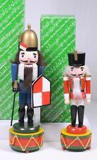 (2) San Francisco Music Box Company Nutcrackers Toy Symphony & Camelot w/Boxes