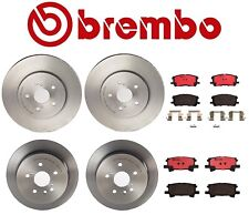 For Lexus RX350 Toyota Highlander Brembo Front and Rear Full Brake Kit Brembo