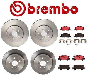 For Lexus RX350 Toyota Highlander Brembo Front and Rear Full Brake Kit Brembo