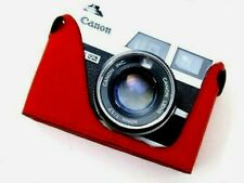 Leather Half Case for Canon QL17 GIII Red - BRAND NEW