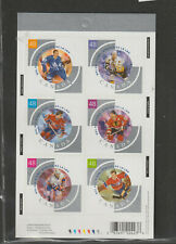 CANADA stamps HOCKEY ALL STARS  #1972 booklet self stick  MINT NH