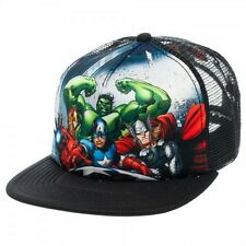 Avengers Marvel Heroes Trucker Marvel Comics Trucker Hat Cap