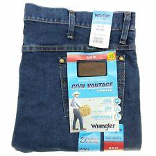 Wrangler Cool Vantage Men's Jeans 40x36 Cowboy Cut 36 Slim Fit Blue Denim
