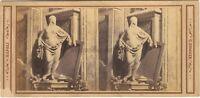 Foto Un Soprammobile Da Sommer Napoli Italia Stereo Vintage Albumina Ca 1865