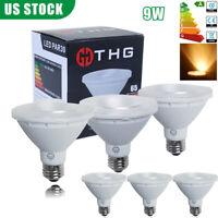 6X PAR30 E26 9W LED COB Chip Bulb Spotlight Dimmable Lamp Light Warm White 2700K
