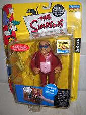 #4029 NRFC Playmates Toys the Simpsons Bleeding Gums Murphy Figure