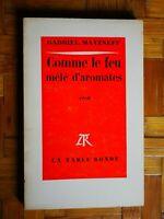 Rare GABRIEL MATZNEFF Comme le Feu Melé d Aromates EO La Table Ronde 1969