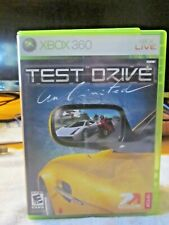 Test Drive Unlimited Microsoft Xbox 360 Game - 100% Complete W/ Manual Tested