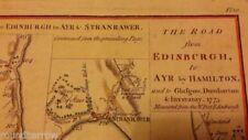 Antique European Maps & Atlases Edinburgh