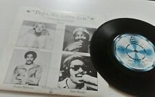 Various Tribute To A Father - Pops We Love You EP Motown TMG1136  1978 EX PLUS ➕