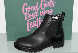 FRITZI AUS PREUSSEN Stiefelette Chelsea Boots Schwarz EDITA Black - Neu! Gr. 37