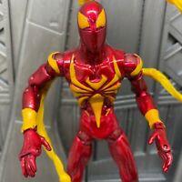 "Marvel Legends Hasbro Metallic Suit Iron Spider Spider-man 6"" Inch Action Figure"