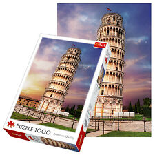 Trefl 1000 Piece Adult Large Leaning Tower Of Pisa Rome Italy Jigsaw Puzzle NEW