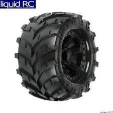 Pro-Line 1192-12 Masher 2.8 inch All Terrain Tires Mounted Black Wheels