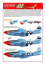 Kits World Decals 1/48 NORTH AMERICAN P-51D MUSTANG Fiesty Sue & Lil' Aggie