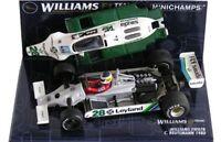 MINICHAMPS 060009 090016 800028 WILLIAMS F1 model Webber Rosberg Reutemann 1:43