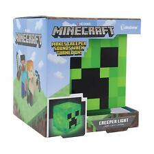 Minecraft Creeper Character Design Bedside Novelty Night Light