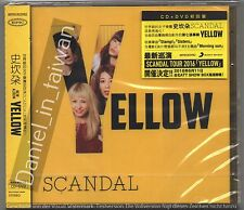 Japan: Scandal: Yellow (2016) CD & DVD SEALED