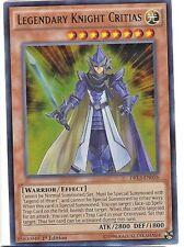 Yu-Gi-Oh DRL3-EN056 Legendary Knight Critias Ultra Rare 1st Edition