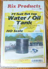 Rix Products #628-500 Water / Oil Tank /Kit / 29 foot Flat Top Style (HO Scale)