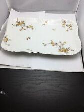 Vintage Haviland Limoges Yellow Rose serving plate