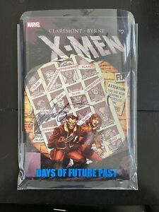 X-Men Days of Future Past TPB Paperback Signed By Chris Claremont