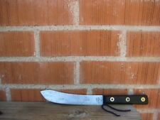 "Antique 7"" Blade AU SPHINX monster of Thebes ** Rare Carbon Butcher Knife FRANCE"