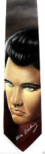 Ralph Marlin Elvis Presley Mens Necktie Guitar Music Signature Neck Tie New