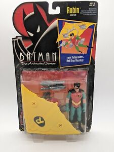 Robin Action Figure Turbo Glider Drop MissilesBATMAN THE ANIMATED SERIES Kenner