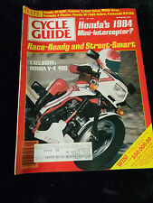 Cycle Guide September 1983 - Honda's 1984 Mini-Interceptor