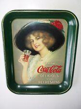 1913 Hamilton King Girl Coca-Cola Serving Tray! - Vintage Coke Repro