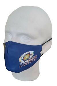 IPL 2021 Mumbai Indians Face Mask T20, Cricket, India, MI Masks, Face Cover