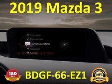OEM GPS 2019 Mazda 3 Navigation SD Card BDGF66EZ1
