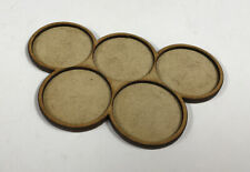 Miniatures Movement / Storage Tray, holds 5 40mm bases in group formation