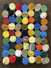 Nos Lot 63 Spinning Wheel Spinnerin 100% Acrylic Latch Hook Rug Yarn Mixed Color