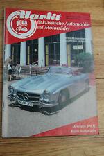 Markt für klassische Automobile und Motorräder 10/1984 Mercedes 300SL Volvo Amaz