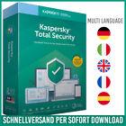 Kaspersky Total Security 2021 | 1PC, 3PC, 5PC - Geräte - 1 Jahr / 2 Jahre  <br/> kostenloser Support✔ DE-Händler✔ Anleitung✔ Schnell✔