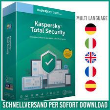 Kaspersky Total Security 2021 | 1PC, 3PC, 5PC - Geräte - 1 Jahr / 2 Jahre