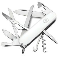 Victorinox Huntsman White - Swiss Army Pocket Knife 91 mm - 15 Tools