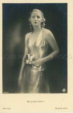 BRIGITTE HELM  1930s  VINTAGE POSTCARD ORIGINAL #4 CP