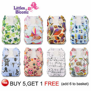 Reusable Washable Pocket Cloth Nappy For PREMATURE and NEWBORN adjustable